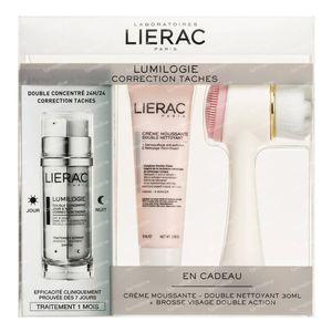Lierac Lumilogie + Crème Moussante + Brosse Nettoyante GRATIS 30+30 ml