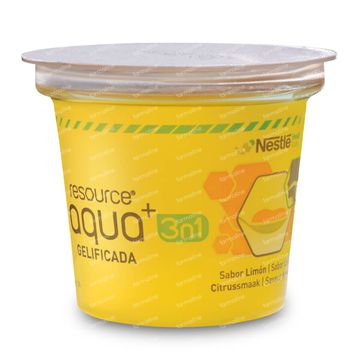 Resource Aqua+ 3-In-1 Zitrone 4x125 g