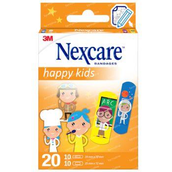 3M Nexcare Happy Kids Beroepen 20 Pleisters Assortiment N0920PR 20 pleisters