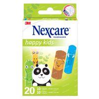 3M Nexcare Happy Kids Animaux 20 Pansements Assortiment N0920AN 20  pansements
