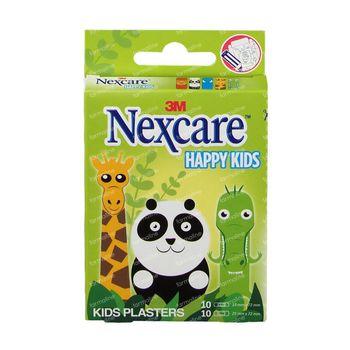 3M Nexcare Happy Kids Dieren 20 Pleisters Assortiment N0920AN 20 pleisters