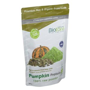 Biotona Pumpkin Protein Raw Powder Bio 300 g