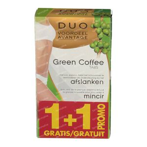Green Light Coffee Duo 1+1 For FREE 2x60 tablets