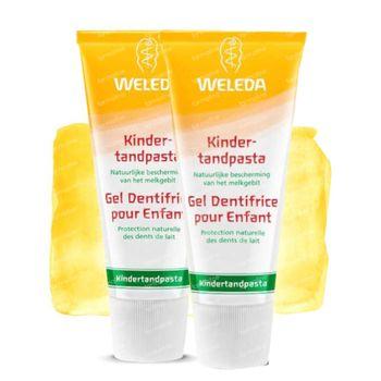 Weleda Dentifrice pour Enfants Duo 2x50 ml