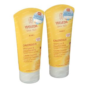 Weleda Baby Calendula Hair-Body Duo 2x200 ml