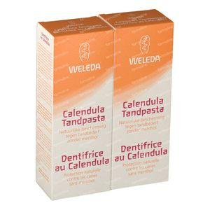 Weleda Tandpasta Calendula Duo 2x75 ml