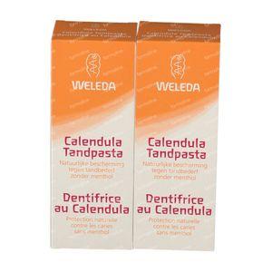 Weleda Dentifrice au Calendula Duo 2x75 ml