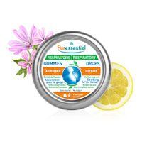 Puressentiel Ademhaling Verzachtende Gommen Citrusvrucht 45 g