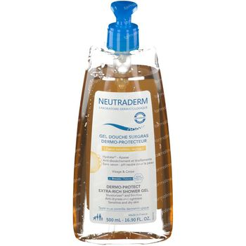 Neutraderm Dermo-Protect Overvette Douchegel 500 ml