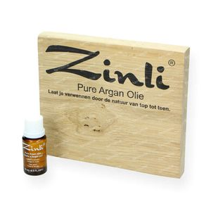 Zinli Arganöl Rein - Nicht Raffiniert  15 ml