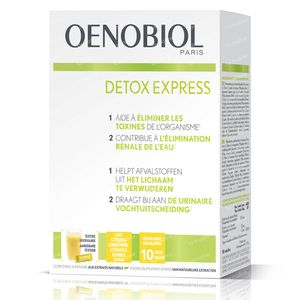 Oenobiol Detox Express Gember - Citroen 10 stick(s)
