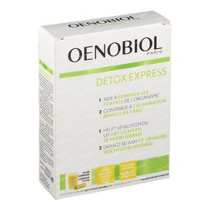 Oenobiol Détox Express Gingembre-Citron 10 stick(s)