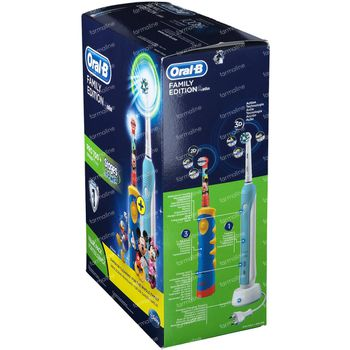 Oral B Pro 700 Familie + Stages 1 shaker