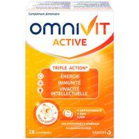 Omnivit Active - Vitamine & Energie 28  comprimés