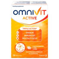 Omnivit Active - Vitamine & Energie 28  tabletten