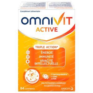 Omnivit Active - Vitamine & Energie 84 comprimés