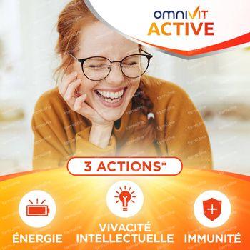 Omnivit Active - Immunité & Énergie 84 comprimés
