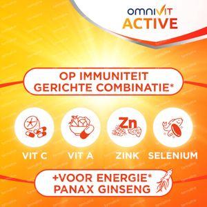 Omnivit Active - Vitamine & Energie 84 tabletten