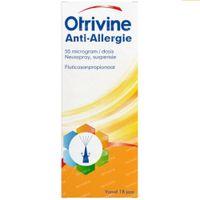 Otrivine Anti-Allergie Neusspray 50 mcg/dosis 120  unidosis