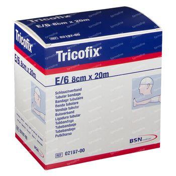Tricofix Protection Tubulaire en Coton E/6 20 cm x 8 cm 1 pièce
