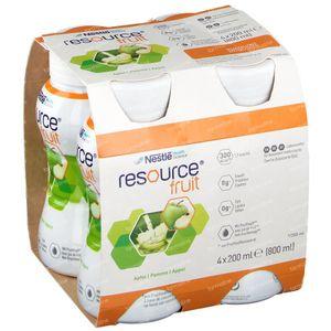 Resource Fruit Apfel 4x200 ml