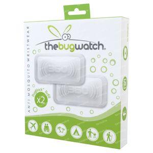 TheBugWatch Anti-Mücke-Armband Nachfüllung 2 st