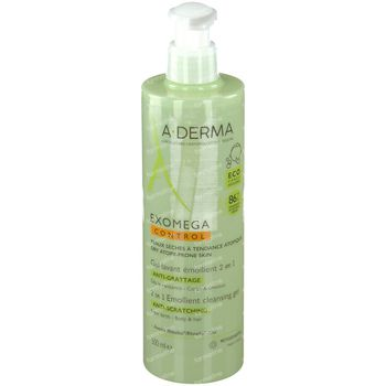 A-Derma Exomega Control Wasgel Lichaam & Haren 500 ml