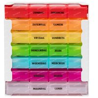Eureka Care Boîte De Comprimés Couleur 1 Semaine 1 st