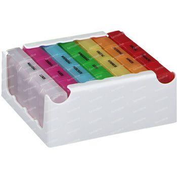Eureka Care Pillbox Farbe 1 Woche  1 st