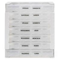 Eureka Care Boîte De Comprimés Transparent 1 Semaine 1 st