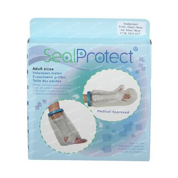 Sealprotect Schutzhülle Erwachsene Hand 38 cm 1 st
