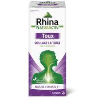 Rhina NaturActiv Toux Sirop - Soulage la Toux 180 g