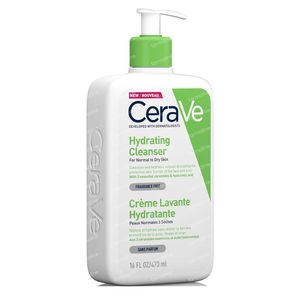 CeraVe Crème Lavante Hydratante 473 ml