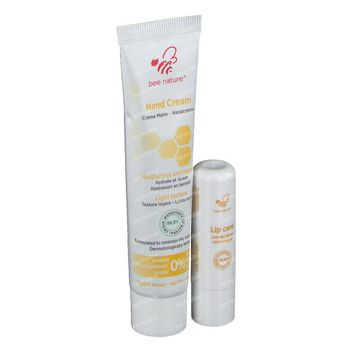 Bee Nature Duo Handcreme + Lipstick 2 st