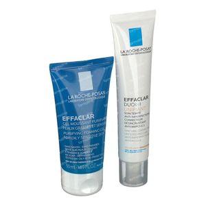 La Roche-Posay Effaclar Duo(+) Unifiant Light + GRATIS Effaclar Reinigungsgel 40+50 ml