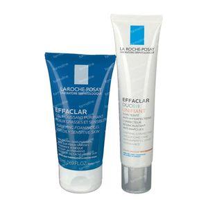 La Roche-Posay Effaclar Duo(+) Unifiant Medium + GRATIS Effaclar Reinigungsgel 40+50 ml