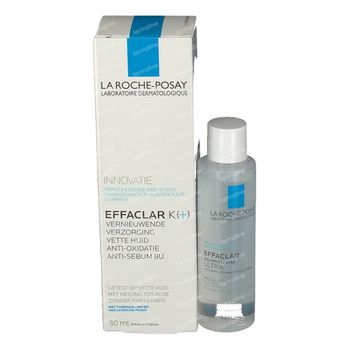 La Roche-Posay Effaclar K+ + GRATIS Effaclar Mizellenwasser 30+50 ml