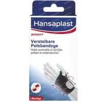 Hansaplast Sport Polsbandage Verstelbaar 1 st
