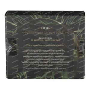 Korres Box Regalo Black Pine Mini Trio 16+16+6 ml