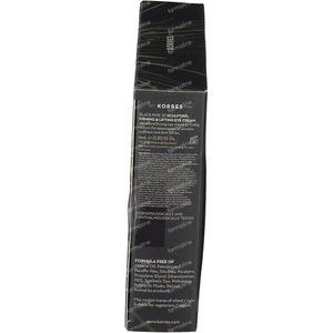 Korres Giftset Black Pine Mini Trio 16+16+6 ml