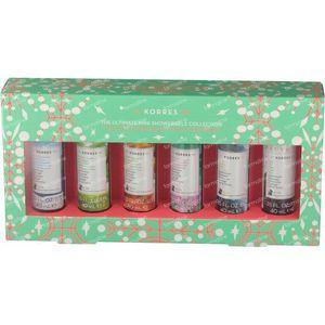 Korres Giftset Showergel Collection 6x40 ml