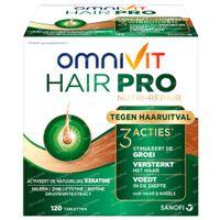 Omnivit Hair Pro Nutri Repair - Tegen Haaruitval 120  tabletten