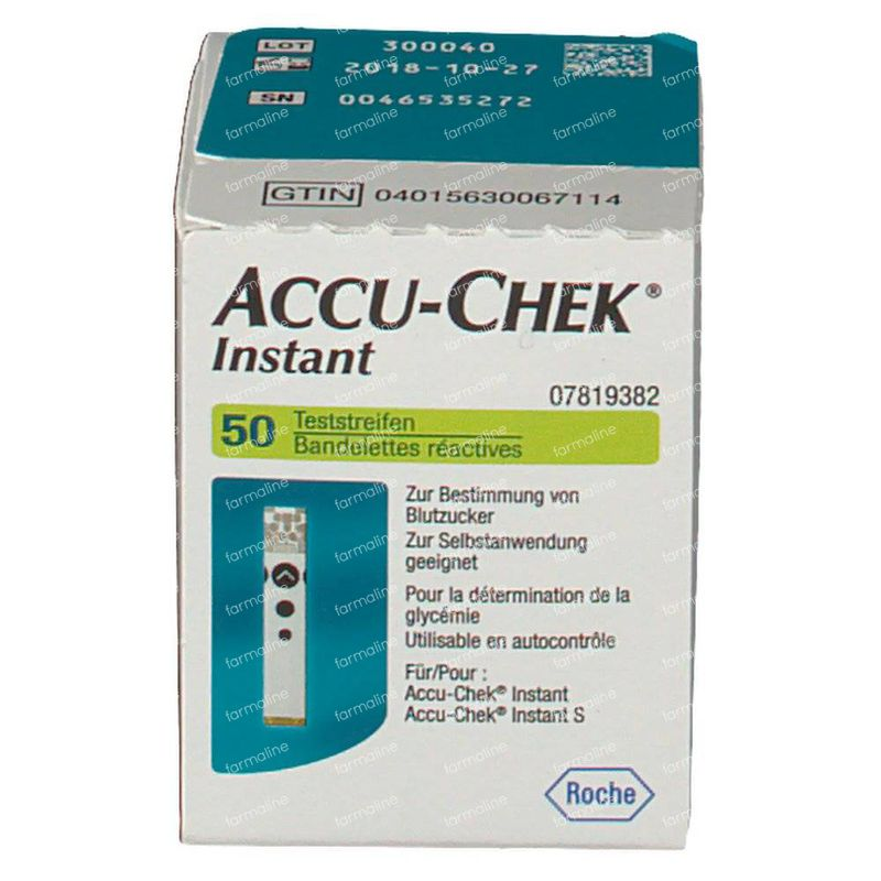 Perfume Tester Strips Uk: Accu-Chek Instant Teststrips 8719382171 50 Pieces Order Online