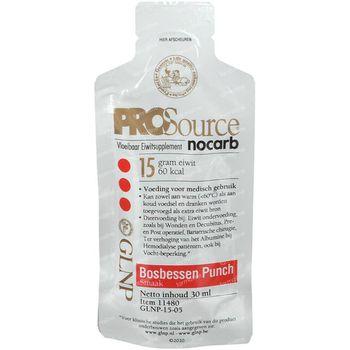 PROSource Nocarb Mytrilles Punch 30 ml