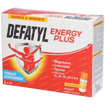 Defatyl Energy Plus Drinkbaar 28x15 ml flesjes
