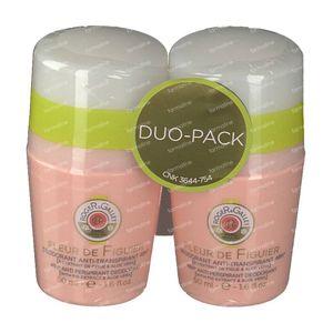 Roger & Gallet Fleur De Figuier Anti-Transpirant Deodorant Duo 2x50 ml