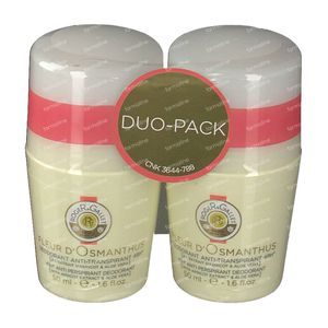 Roger & Gallet Fleur D'Osmanthus Anti-Transpirant Deodorant Duo 2x50 ml
