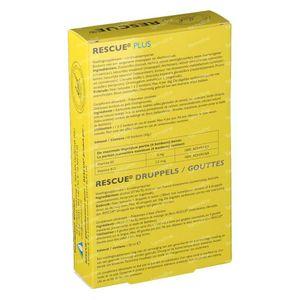 Bach Bloesem Rescue Tropfen 20 ml + 10 Rescue Plus Bonbons GRATIS 1 shaker