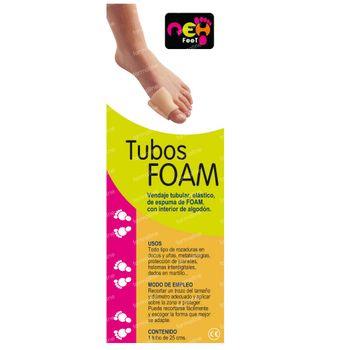 NEH Feet Foambuisje Diameter 2,5cm Lang 24,5cm 1 pièce