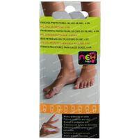 NEH Feet Eeltpleisters Bescherming Siligel One Size 6 st